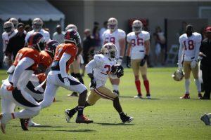 49ers v Broncos prac1